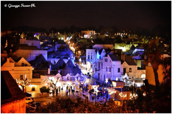 Panoramica «Christmas lights»